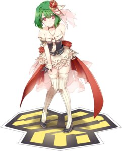 Rating: Questionable Score: 65 Tags: kuronell macross macross_frontier ranka_lee thighhighs User: fairyren