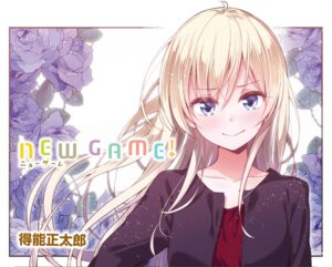 Rating: Safe Score: 28 Tags: new_game! tokunou_shoutarou yagami_kou User: kiyoe