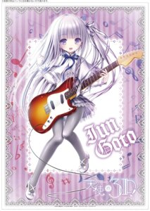 Rating: Safe Score: 46 Tags: goto_jun guitar heels pantyhose seifuku tenshi_no_three_piece! tinkle User: saemonnokami