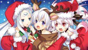Rating: Safe Score: 18 Tags: animal_ears christmas cross_edge eruma horns iruma may tsunako wallpaper User: petopeto