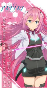Rating: Safe Score: 27 Tags: gakusentoshi_asterisk julis-alexia_van_riessfeld seifuku sword thighhighs User: AltY