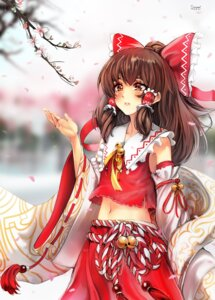 Rating: Safe Score: 17 Tags: glycyrrhizae hakurei_reimu touhou User: Mr_GT