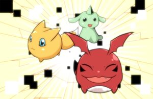 Rating: Safe Score: 6 Tags: amagiku digimon gigimon gummymon monster viximon User: krazy-kun