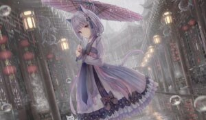 Rating: Questionable Score: 20 Tags: animal_ears asian_clothes missile228 nekomimi tagme tail umbrella User: Dreista