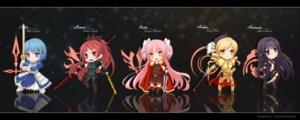 Rating: Safe Score: 38 Tags: akemi_homura assassin_(fate/zero) chibi fate/stay_night fate/zero gilgamesh_(fsn) kaname_madoka lancer_(fate/zero) miki_sayaka parody puella_magi_madoka_magica rider_(fate/zero) saber sakura_kyouko sevendayswar sword tomoe_mami User: Spidey