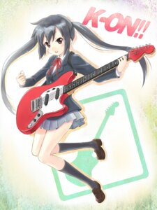 Rating: Safe Score: 10 Tags: guitar k-on! nakano_azusa satogo seifuku User: Radioactive