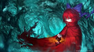 Rating: Safe Score: 15 Tags: sekibanki shinigamiwyvern signed touhou User: Mr_GT