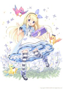 Rating: Safe Score: 45 Tags: alice cosplay dress flower_knight_girl heels kimishima_ao thighhighs User: Mr_GT