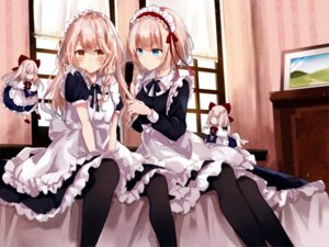 Rating: Safe Score: 72 Tags: alice_margatroid hourai kirisame_marisa kisaragi_yuri maid pantyhose shanghai touhou User: hiroimo2