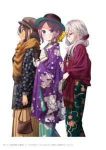 Rating: Questionable Score: 6 Tags: ahagon_umiko hazuki_shizuku new_game! tokunou_shoutarou tooyama_rin User: kiyoe