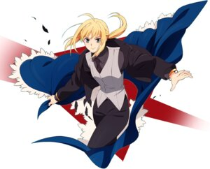 Rating: Safe Score: 9 Tags: business_suit fate/stay_night fate/zero kaisen saber User: Radioactive
