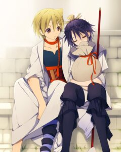 Rating: Safe Score: 3 Tags: alibaba_saluja goroo magi_the_labyrinth_of_magic male ren_hakuryuu User: charunetra