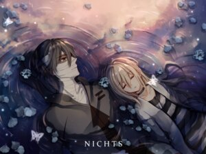 Rating: Safe Score: 12 Tags: bandages isaac_foster nichts rachel_gardner satsuriku_no_tenshi wet User: charunetra