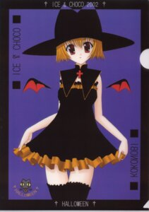 Rating: Safe Score: 8 Tags: dress halloween kokonobi nanao_naru thighhighs wings witch User: Radioactive