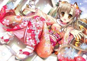 Rating: Safe Score: 45 Tags: crease fujima_takuya kimono lolita_fashion wa_lolita User: crim