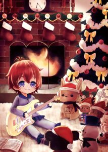 Rating: Safe Score: 4 Tags: christmas guitar julia_(idolm@ster) pajama tagme the_idolm@ster the_idolm@ster_million_live! User: Radioactive