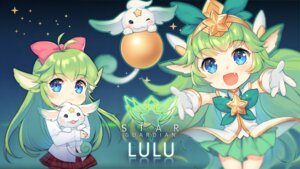 Rating: Safe Score: 13 Tags: animal_ears dakun league_of_legends lulu_(league_of_legends) seifuku wallpaper User: charunetra