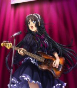 Rating: Safe Score: 32 Tags: akiyama_mio gothic_lolita guitar k-on! lolita_fashion moonknives User: gnarf1975