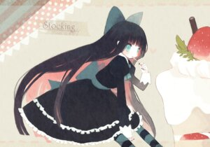 Rating: Safe Score: 35 Tags: dress kashiwaba_hisano lolita_fashion panty_&_stocking_with_garterbelt stocking User: Nekotsúh