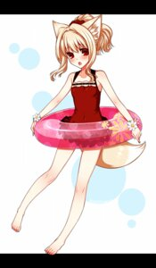 Rating: Safe Score: 17 Tags: animal_ears konshin swimsuits tail User: blooregardo