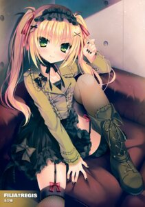 Rating: Safe Score: 127 Tags: fishnets garter_belt lolita_fashion rubi-sama stockings thighhighs User: Hatsukoi