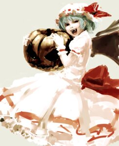 Rating: Questionable Score: 16 Tags: dress halloween remilia_scarlet terekisiman touhou wings User: リナ