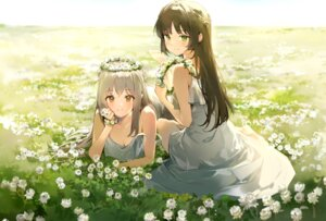 Rating: Safe Score: 49 Tags: anmi cleavage dress no_bra summer_dress tagme User: BattlequeenYume