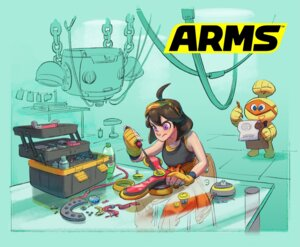 Rating: Questionable Score: 8 Tags: arms mechanica nintendo User: fly24