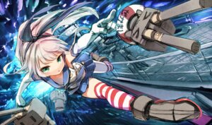Rating: Safe Score: 34 Tags: heels kantai_collection kurobuta_gekkan rensouhou-chan shimakaze_(kancolle) thighhighs User: Mr_GT