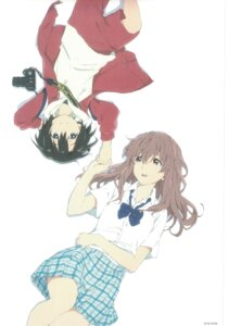 Rating: Safe Score: 35 Tags: koe_no_katachi nishimiya_shouko nishimiya_yuzuru seifuku User: yswysc