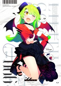 Rating: Safe Score: 18 Tags: benio_(dontsugel) cleavage horns pointy_ears tagme tail wings User: Dreista