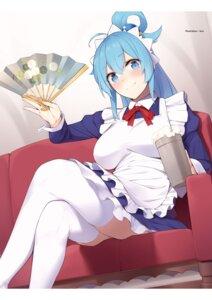 Rating: Safe Score: 21 Tags: kono_subarashii_sekai_ni_shukufuku_wo! maid thighhighs watari_masahito User: kiyoe