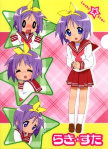 Rating: Safe Score: 10 Tags: hiiragi_tsukasa lucky_star seifuku User: hyde333