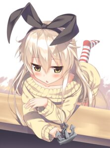 Rating: Safe Score: 85 Tags: kantai_collection olive_(laai) shimakaze_(kancolle) sweater User: Mr_GT
