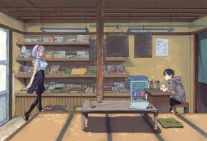 Rating: Safe Score: 32 Tags: dagashi_kashi heels kotoyama pantyhose shidare_hotaru shikada_kokonotsu User: saemonnokami