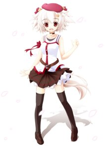 Rating: Safe Score: 27 Tags: animal_ears inubashiri_momiji kamisaki_sora tail thighhighs touhou User: Radioactive