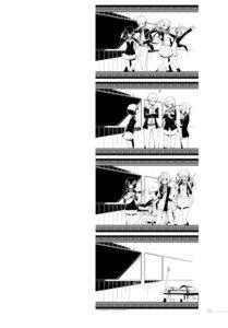 Rating: Questionable Score: 4 Tags: kasuga_ayumu_(artist) monochrome seifuku User: fireattack