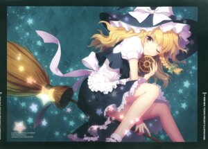Rating: Safe Score: 51 Tags: an2a fixed kirisame_marisa touhou wind_mail witch User: fireattack