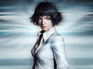 Rating: Safe Score: 8 Tags: cg devil_may_cry heterochromia lady wallpaper User: Chaosmage