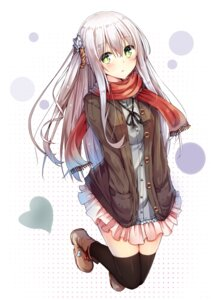 Rating: Safe Score: 118 Tags: sweater thighhighs tsuchikure_(3105mitoko) User: Mr_GT