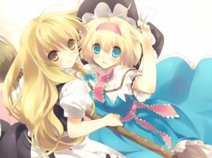 Rating: Safe Score: 37 Tags: alice_margatroid kirisame_marisa nekoiro touhou User: fairyren