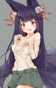 Rating: Safe Score: 59 Tags: animal_ears granblue_fantasy sweater tagme tail yuel_(granblue_fantasy) User: hiroimo2