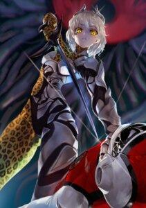 Rating: Safe Score: 20 Tags: armor bodysuit horns weapon yang-do User: nphuongsun93