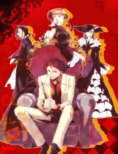 Rating: Safe Score: 5 Tags: 35 beatrice dress ronove umineko_no_naku_koro_ni ushiromiya_battler virgilia User: charunetra