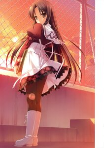 Rating: Safe Score: 32 Tags: 11eyes ozawa_yuu pantyhose seifuku tachibana_kukuri User: crim