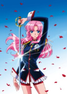 Rating: Safe Score: 16 Tags: bike_shorts revolutionary_girl_utena sword tagme tenjou_utena uniform User: saemonnokami