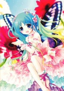 Rating: Questionable Score: 41 Tags: dress lolita_fashion sakurazawa_izumi wings User: demon2