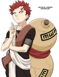 Rating: Safe Score: 7 Tags: gaara male naruto signed vector_trace User: Davison
