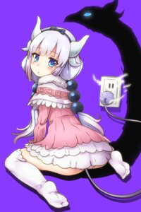 Rating: Questionable Score: 82 Tags: dress feet horns kanna_kamui kobayashi-san_chi_no_maid_dragon pantsu samoore tail thighhighs User: Mr_GT