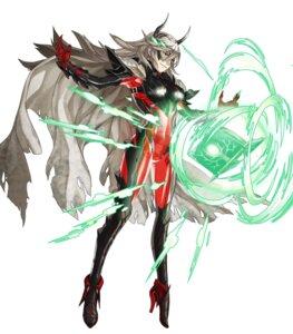 Rating: Questionable Score: 8 Tags: armor bodysuit fire_emblem fire_emblem_heroes heels horns kozaki_yuusuke nintendo thrasir User: fly24